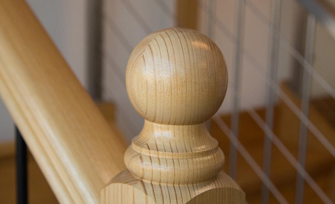 timber balustrading