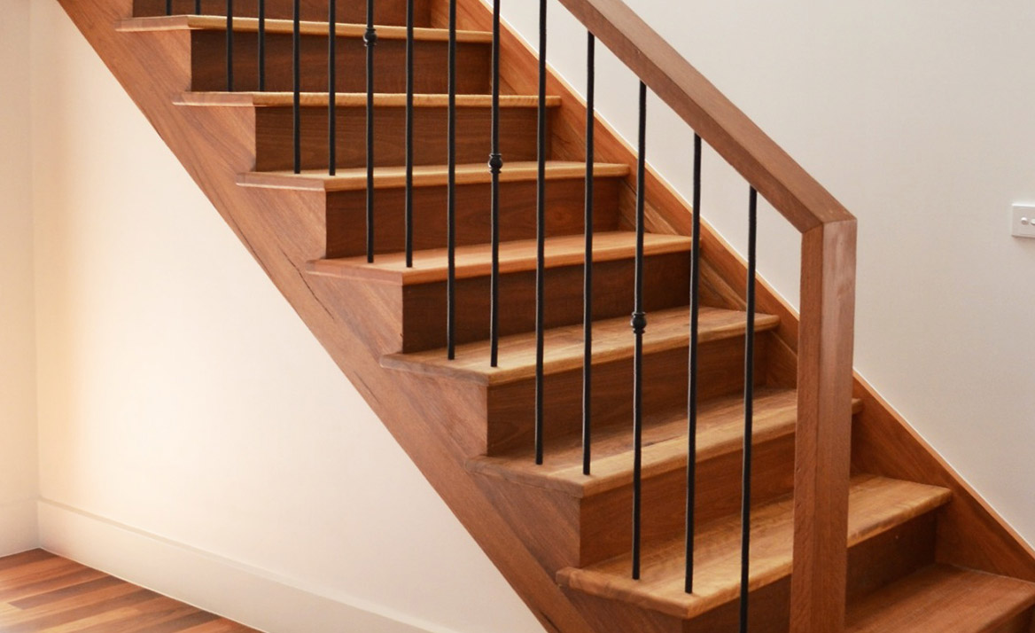 Perfectly Finish Your Staircaseu0027s Half Height Walls.