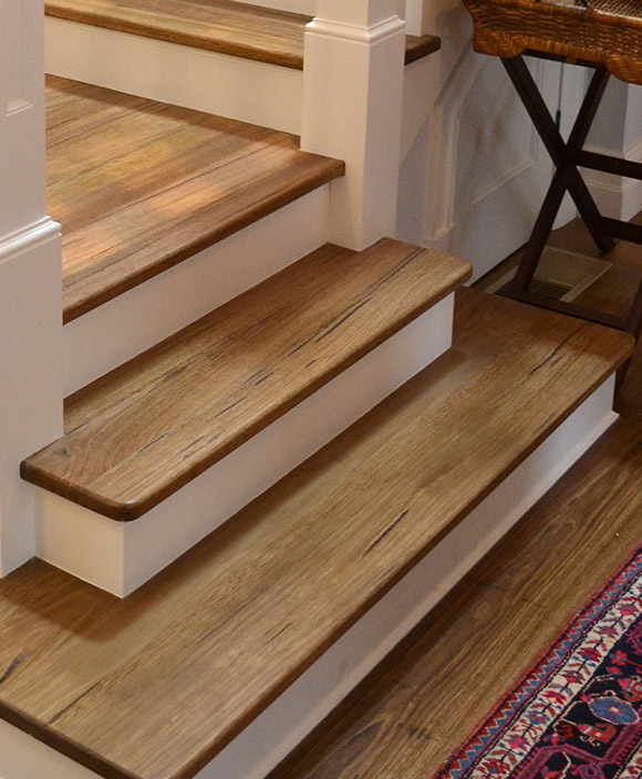 Timber stairs melbourne wooden stairs hardwood staircase for Different kinds of stairs
