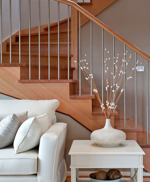 A Choice For Square Or Round Balusters In Standard Sizes.