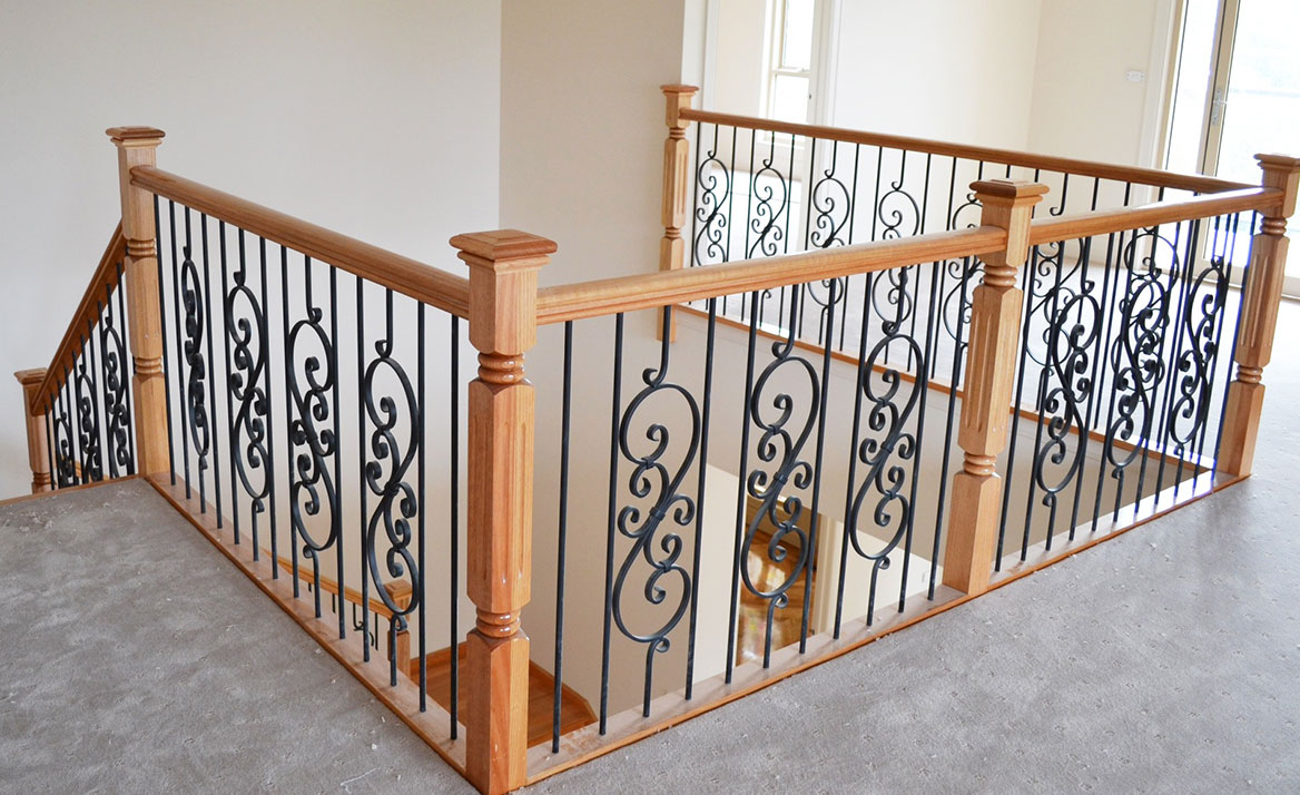 balustrading wrought iron