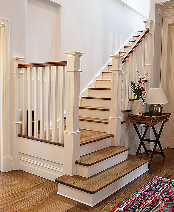 Traditional Stairs, Classic Stairs, Traditional Staircase