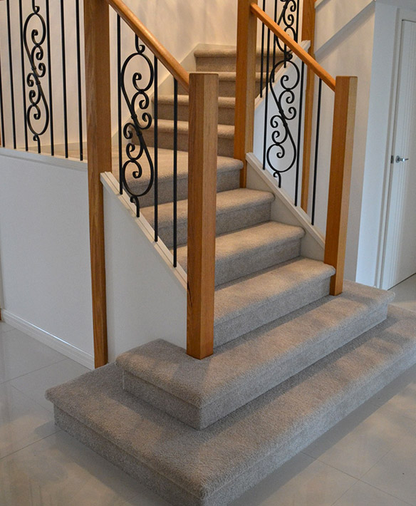 closed stair designs