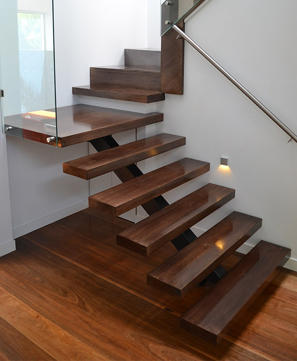 combination staircase design