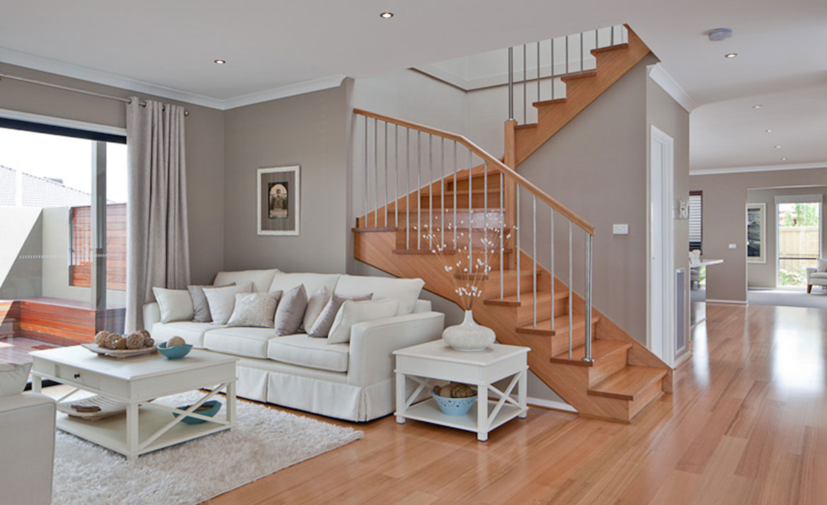 contemporary stair design