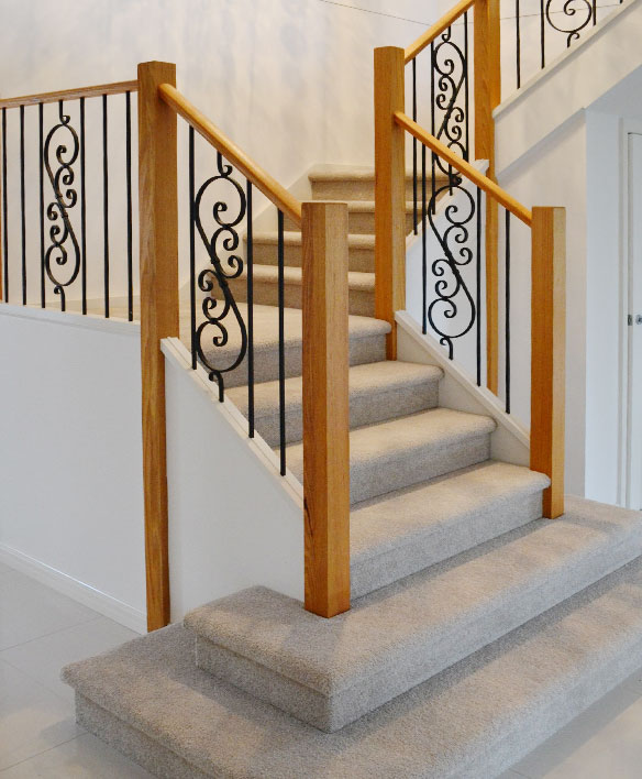 Merveilleux Contemporary Staircase