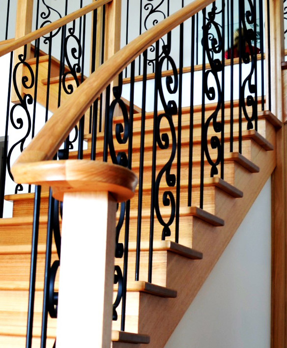 handrail features staircase