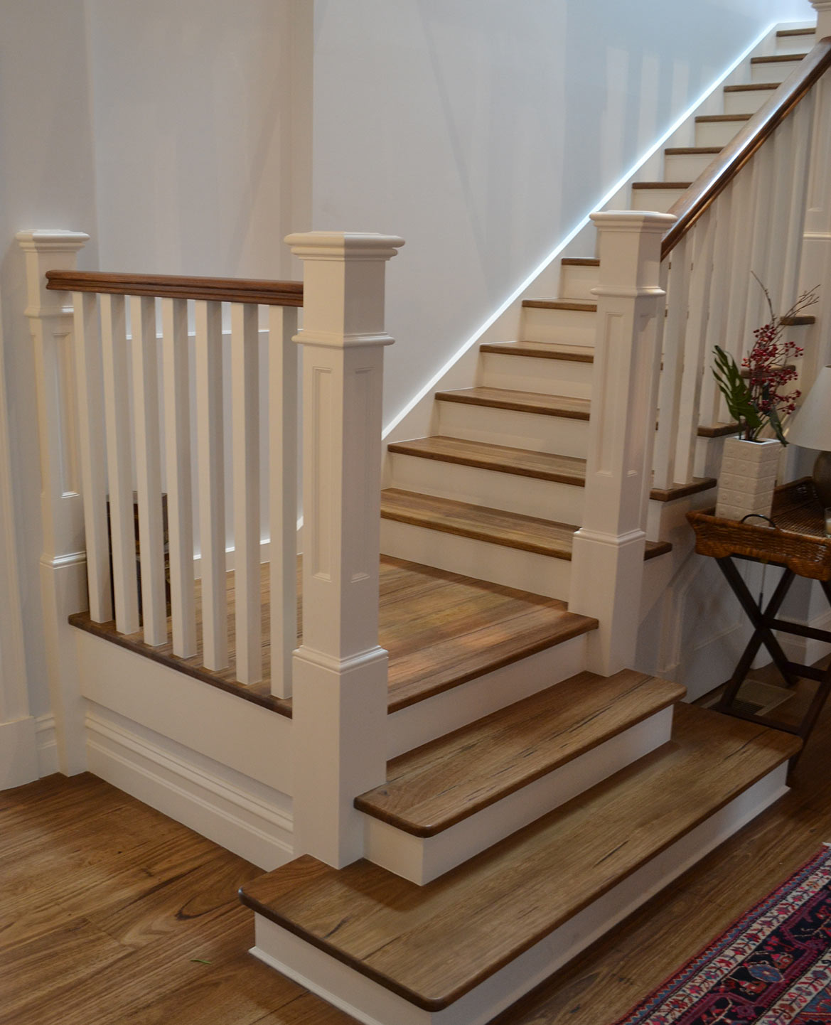 Inspirational Stairs Design: Hampton Style Stairs