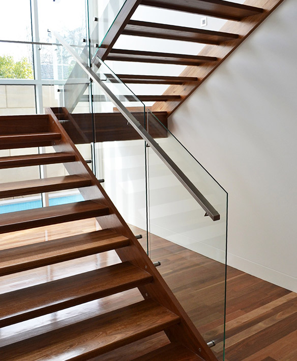 58 Cool Ideas For Decorating Stair Risers: Open Stairs Melbourne