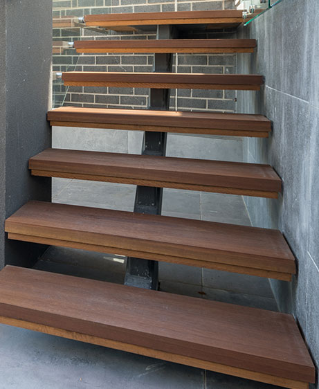 steel stairs design