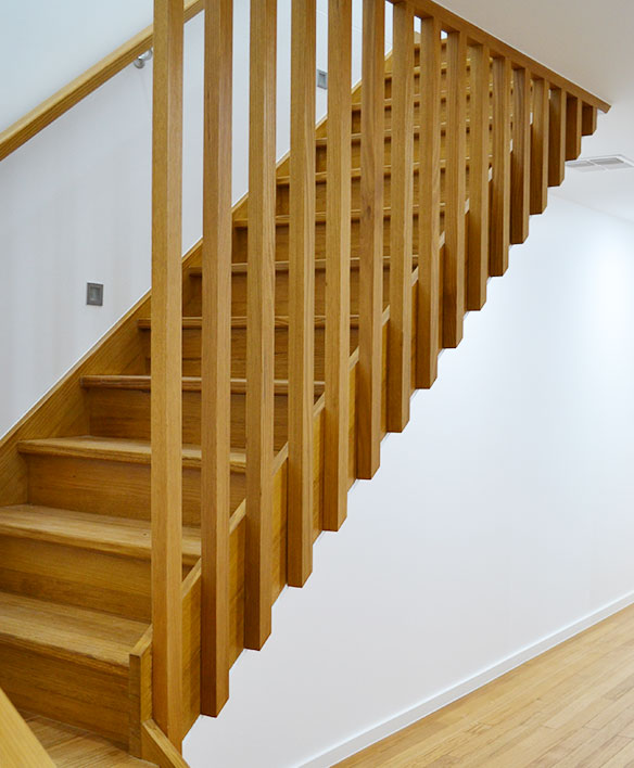 timber balustrade design