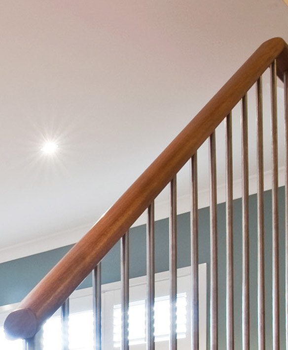 Timber Handrails For Stairs Melbourne Wooden Handrail
