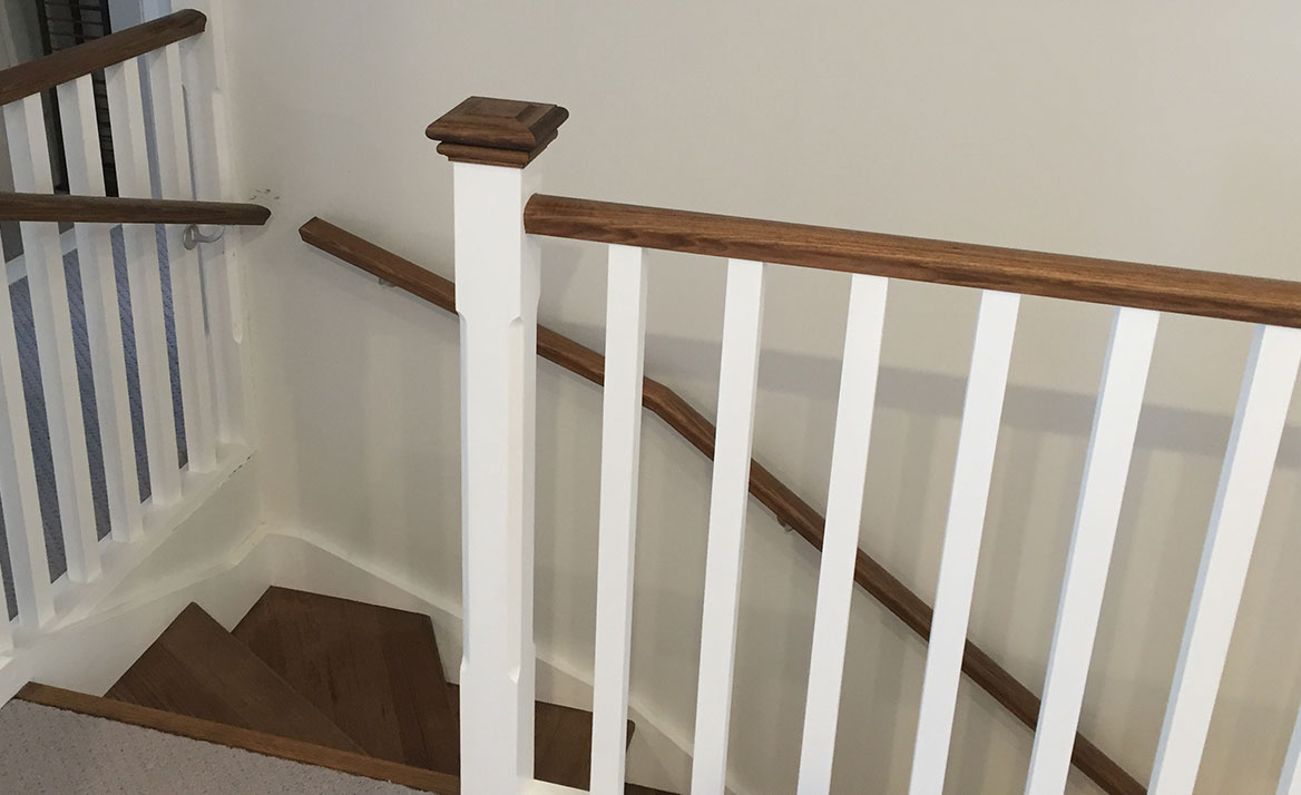 wooden balustrades design