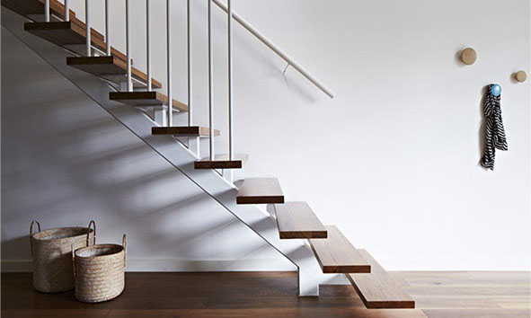 Modern Stairs Melbourne Spiral Staircase Railings Design